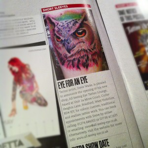 All Seeing Eye in Skin Deep Magazine