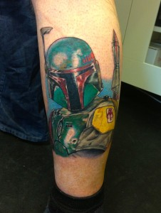 Boba Fett / Star Wars Tattoo