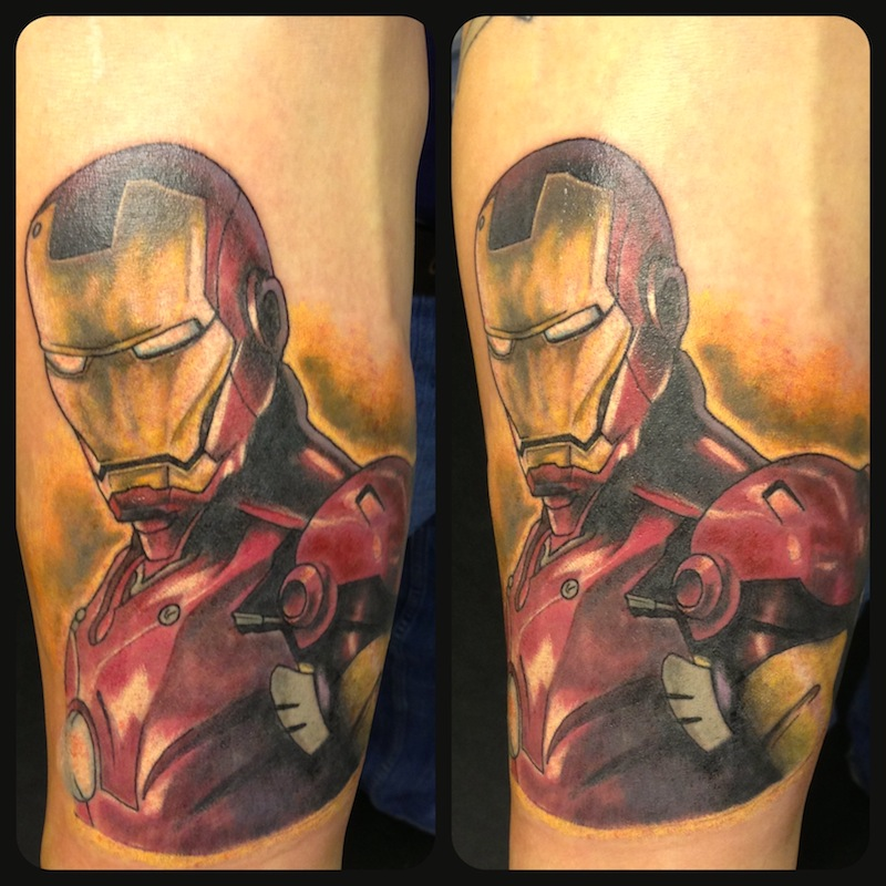 Iron Man Chest Tattoo - Bing images