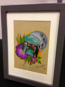 Boba Fett Tattoo Design
